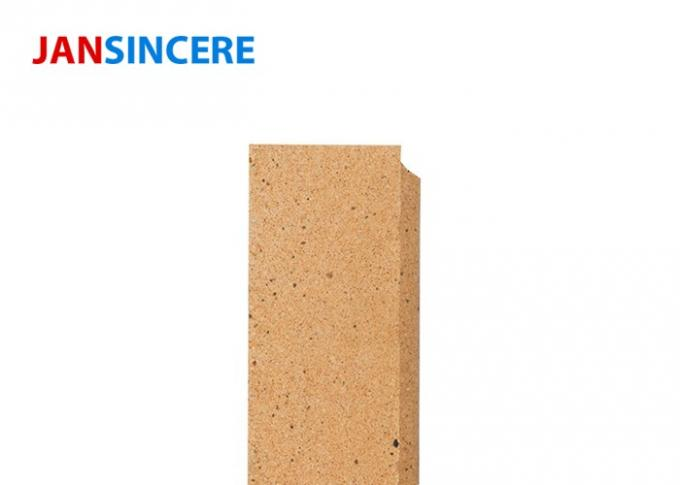 Insulating Fire Clay Bricks High Crushing Strength For Hot Blast Furnace