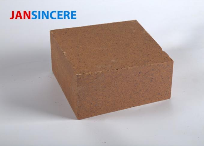 Good Erosion Capacity Magnesia Spinel Bricks , High Purity Heat Resistant Bricks
