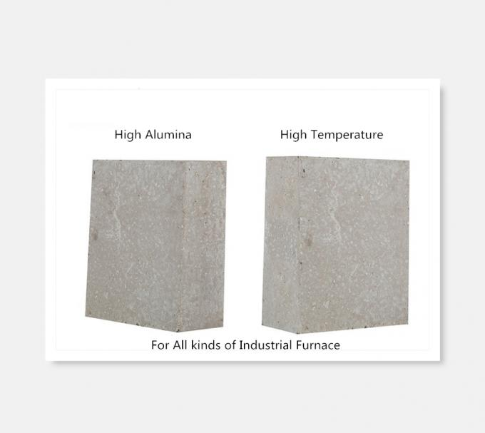 Heat Proof Furnace Refractory Bricks High Strength Erosion Resistance For Rotary Kiln