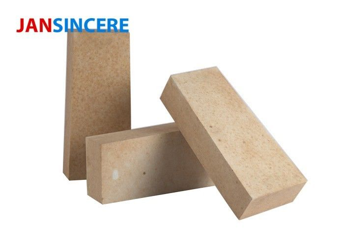 Low Creep High Alumina Fire Bricks For Hot Blast Stove Excellent Slag Resistance