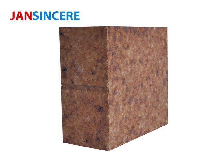 Industrial Cement Kiln Bricks For Fireplaces / Silicon Mullite Refractory Bricks