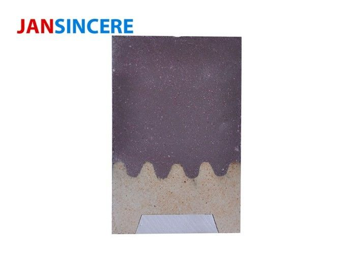 Chrome Corundum Heat Resistant Bricks , Custom Straight Insulating Fire Brick