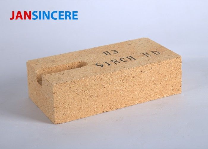 Low Porosity High Alumina Silicate Refractory Brick Good Thermal Stability