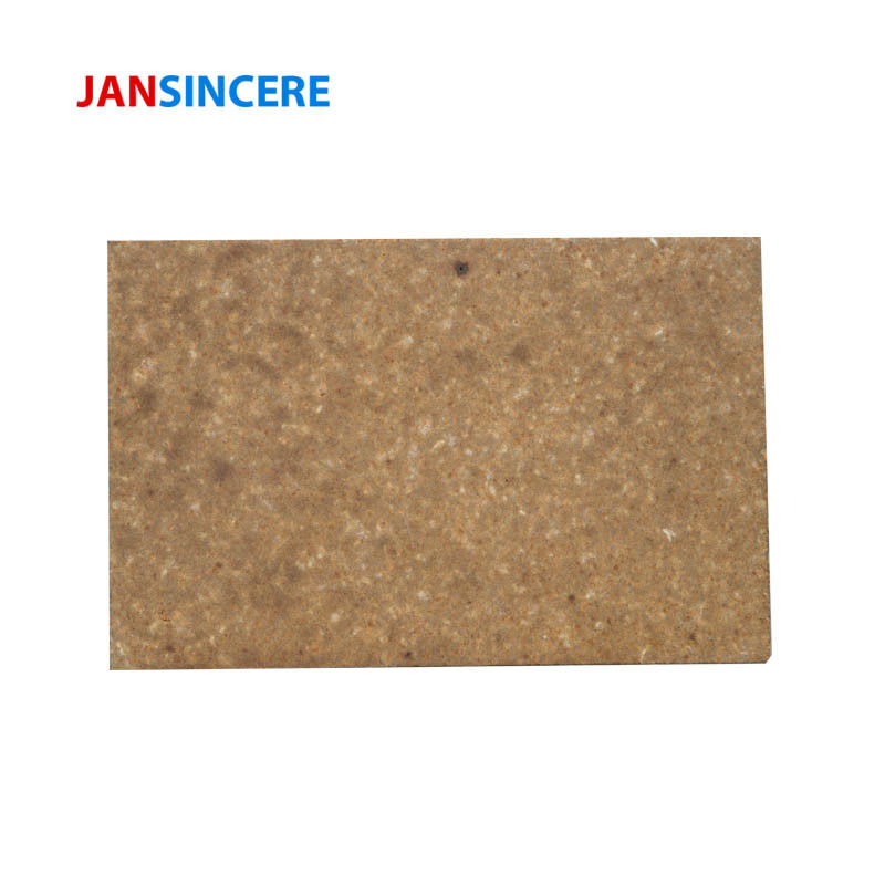 High Refractoriness Fused Mullite High Temp Fire Brick For Fireplace , Erosion Resistance