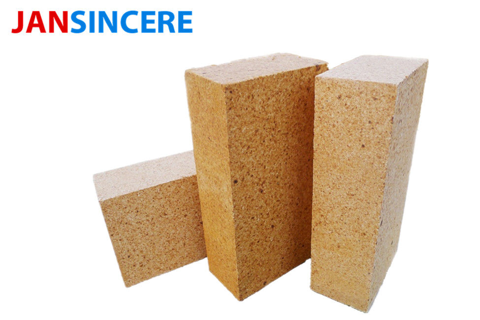 Customized Size Sk32 Fire Clay Bricks / Stove Fire Bricks Heat Corrosion Resistance