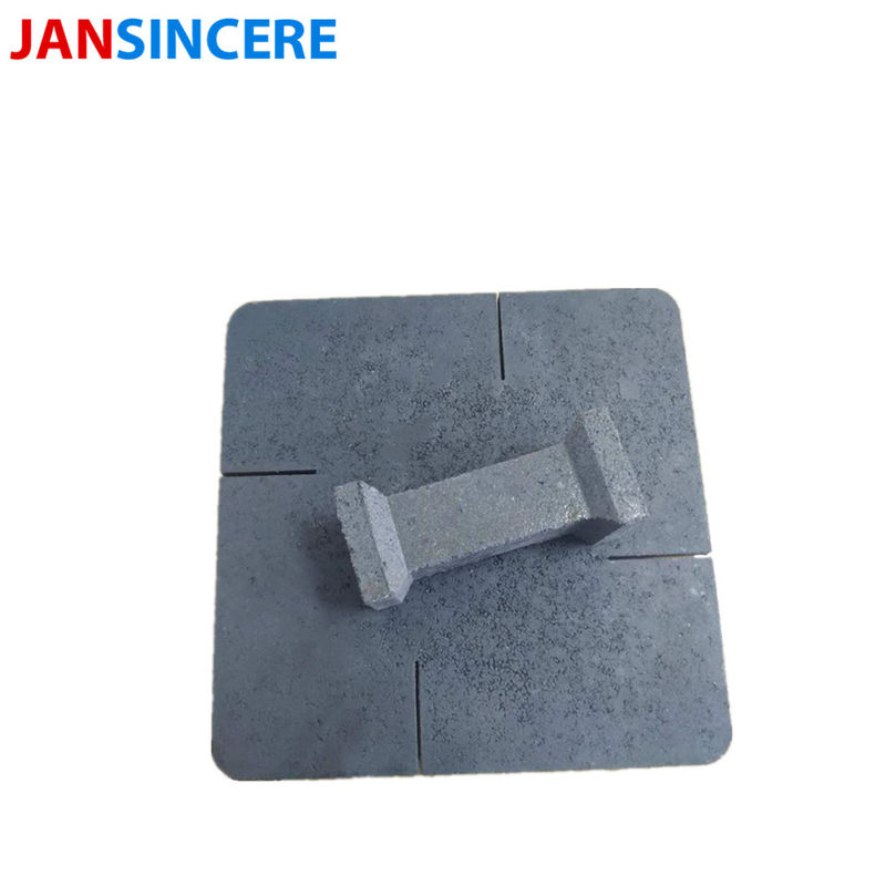 Customized Size Silicon Carbide Bricks Alumina Ceramic Material High Abrasion Resistance