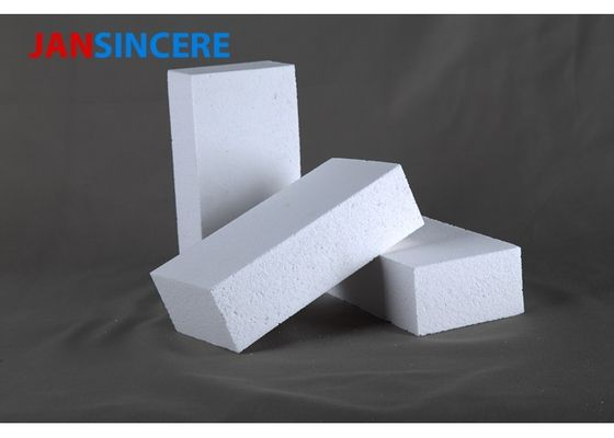 Insulation Lightweight Fire Brick , Good Heat Storage High Alumina Refractory Bricks