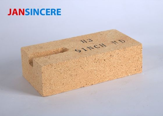 China Low Porosity High Alumina Silicate Refractory Brick Good Thermal Stability distributor