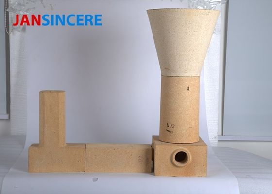 China Cement Kiln Alumina Silicate Refractory Brick High Temperature Resistance distributor