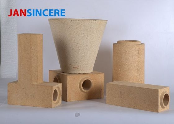 Industrial Furnace Wood Heater Fire Bricks , High Alumina Insulating Fire Brick