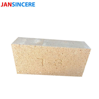 Yellow Heat Insulating Fire Bricks SK32 / SK34 / SK36 / SK38 Clay Baking Brick