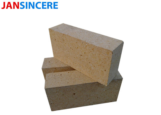 High Grade Spalling Resistance High Alumina Bricks 40 - 60 Mpa Cold Crushing Strength