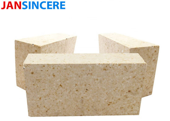 Dry Pressed High Alumina Refractory Bricks High Temp Fire Brick Corrosion Resistance
